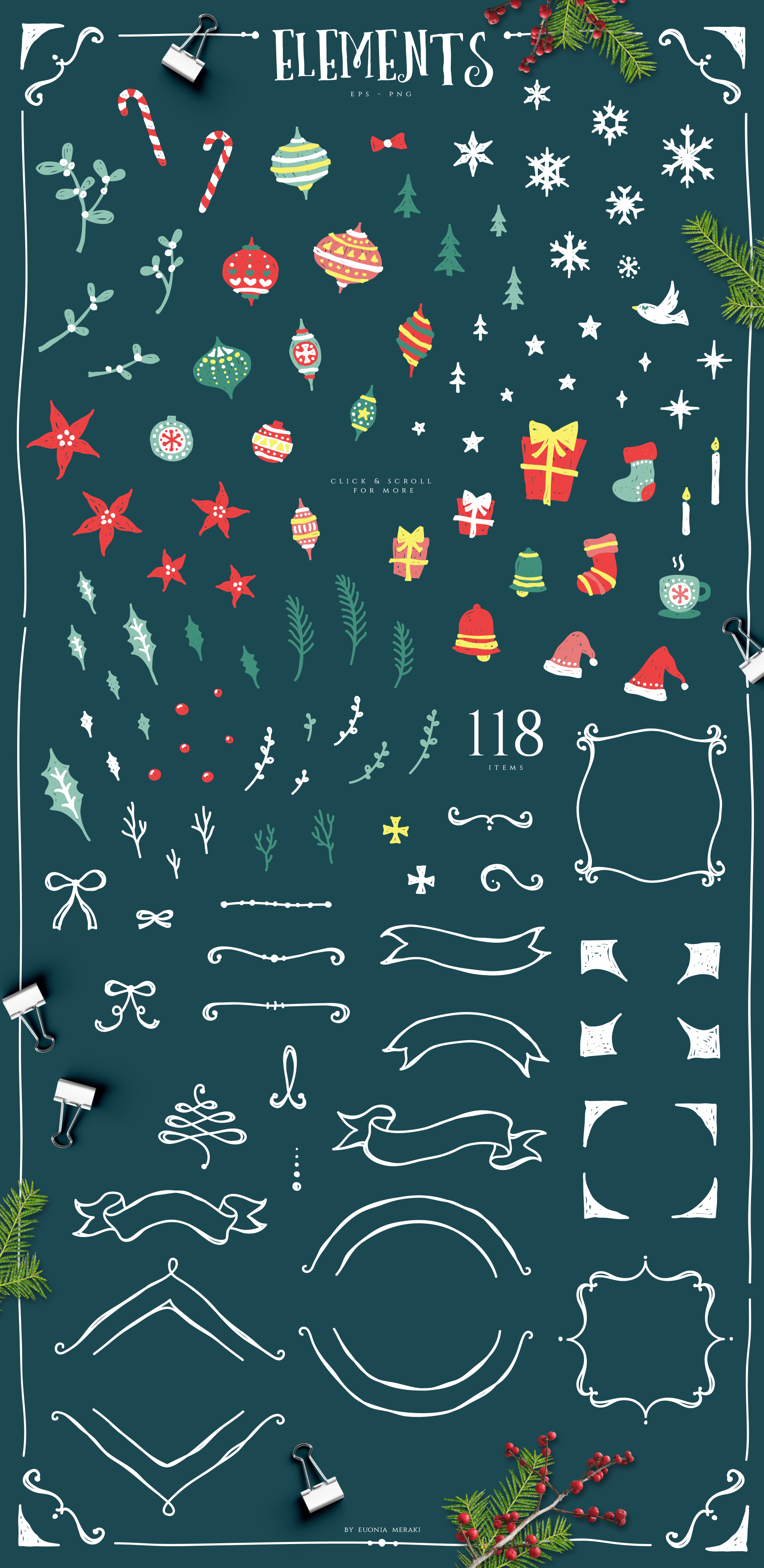 Christmas Joy - Cute and Festive Graphic Pack example image 4