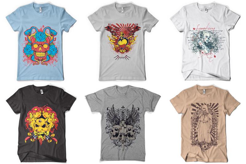 100 T-shirt Designs Vol 4 example image 16