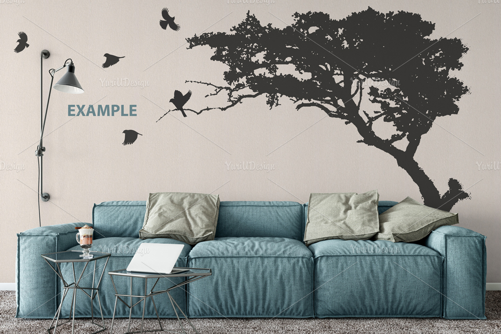 Wall Mockup - Bundle Vol. 1 example image 6