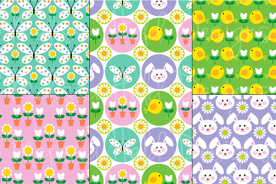 Easter Icons, Eggs & Patterns example image 2