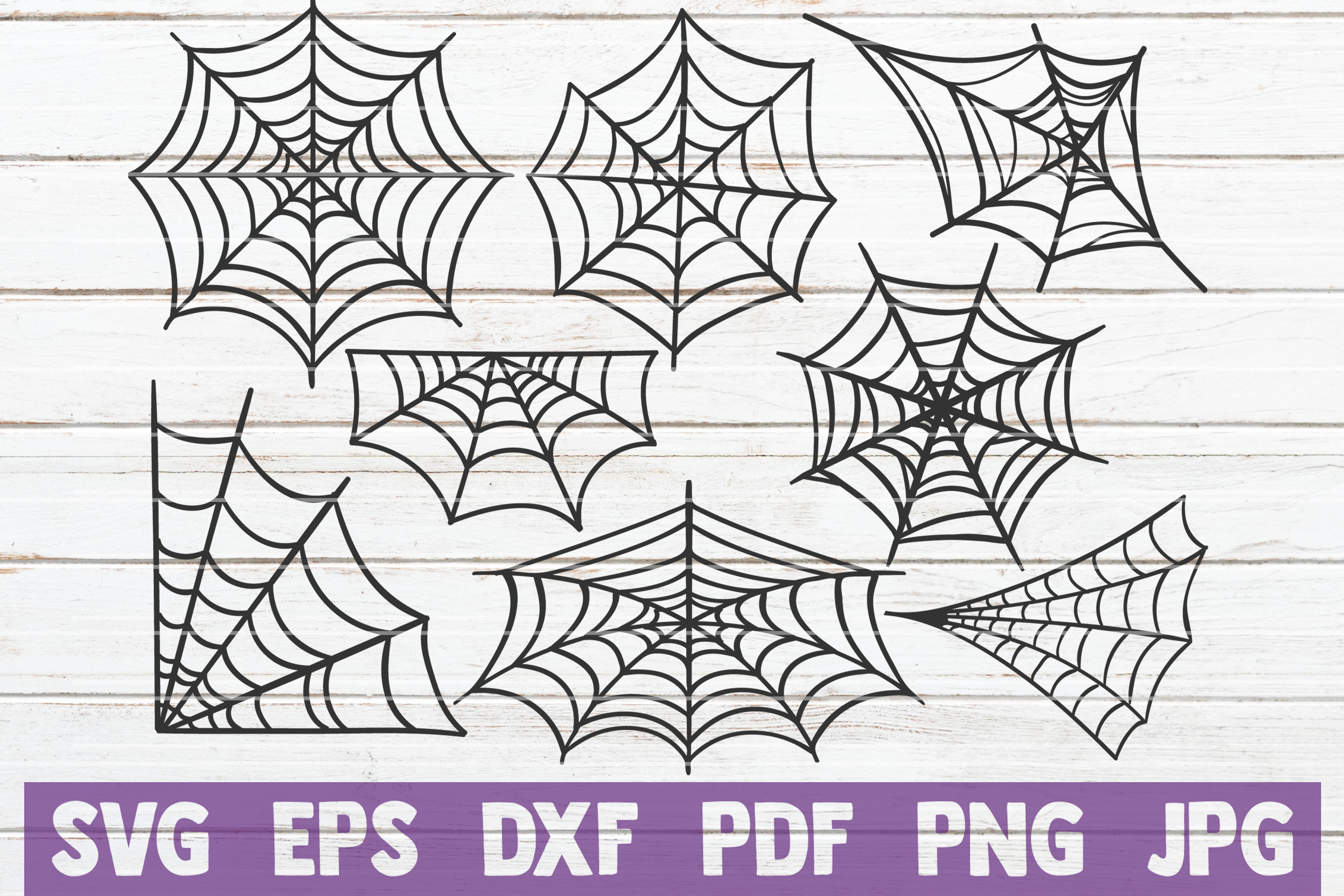 Spider Web SVG Cut Files example image 1