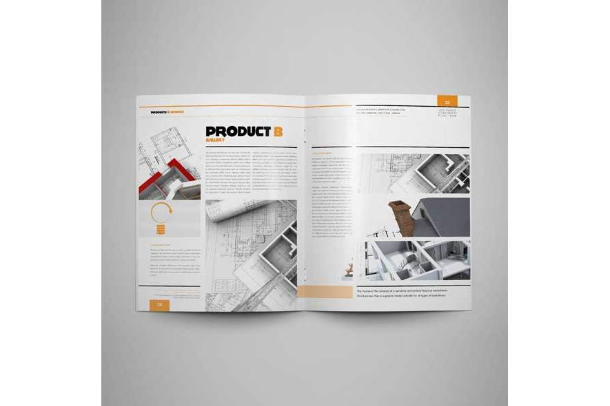 100 Pages Corporate Plan Us Letter example image 5