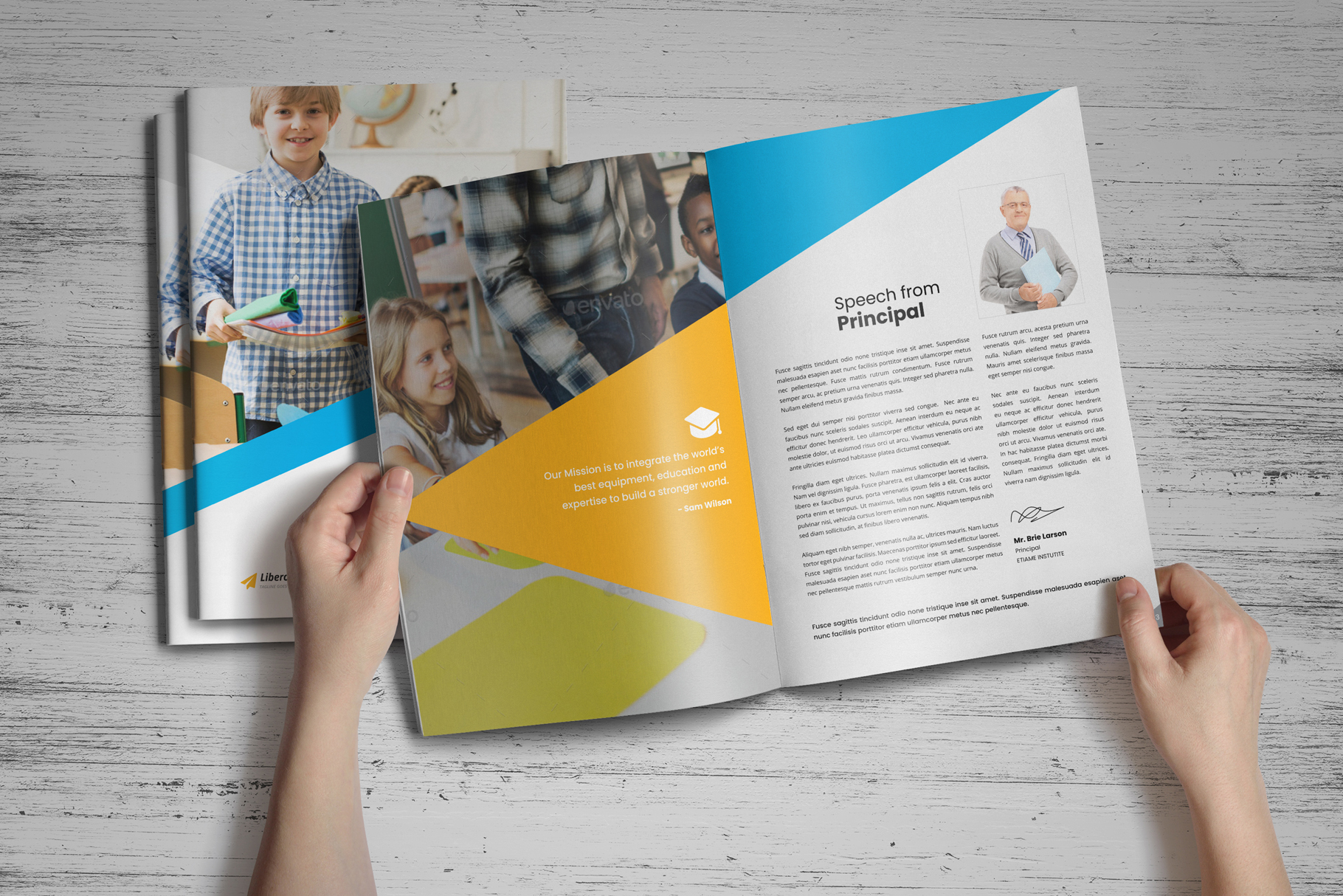 Education Prospectus Brochure v7 example image 13