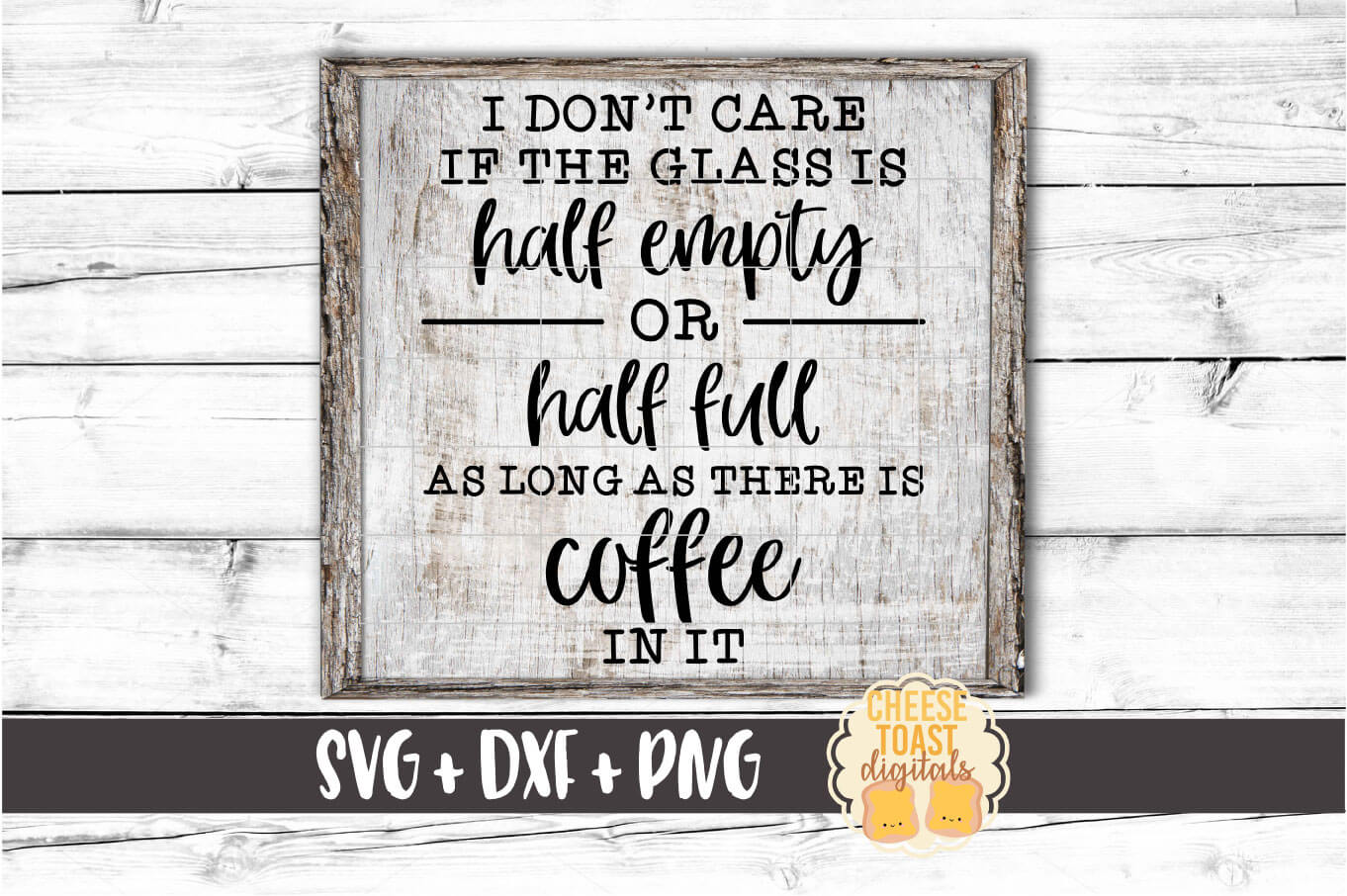 As Long As The Glass Has Coffee In It - Coffee SVG PNG DXF example image 1