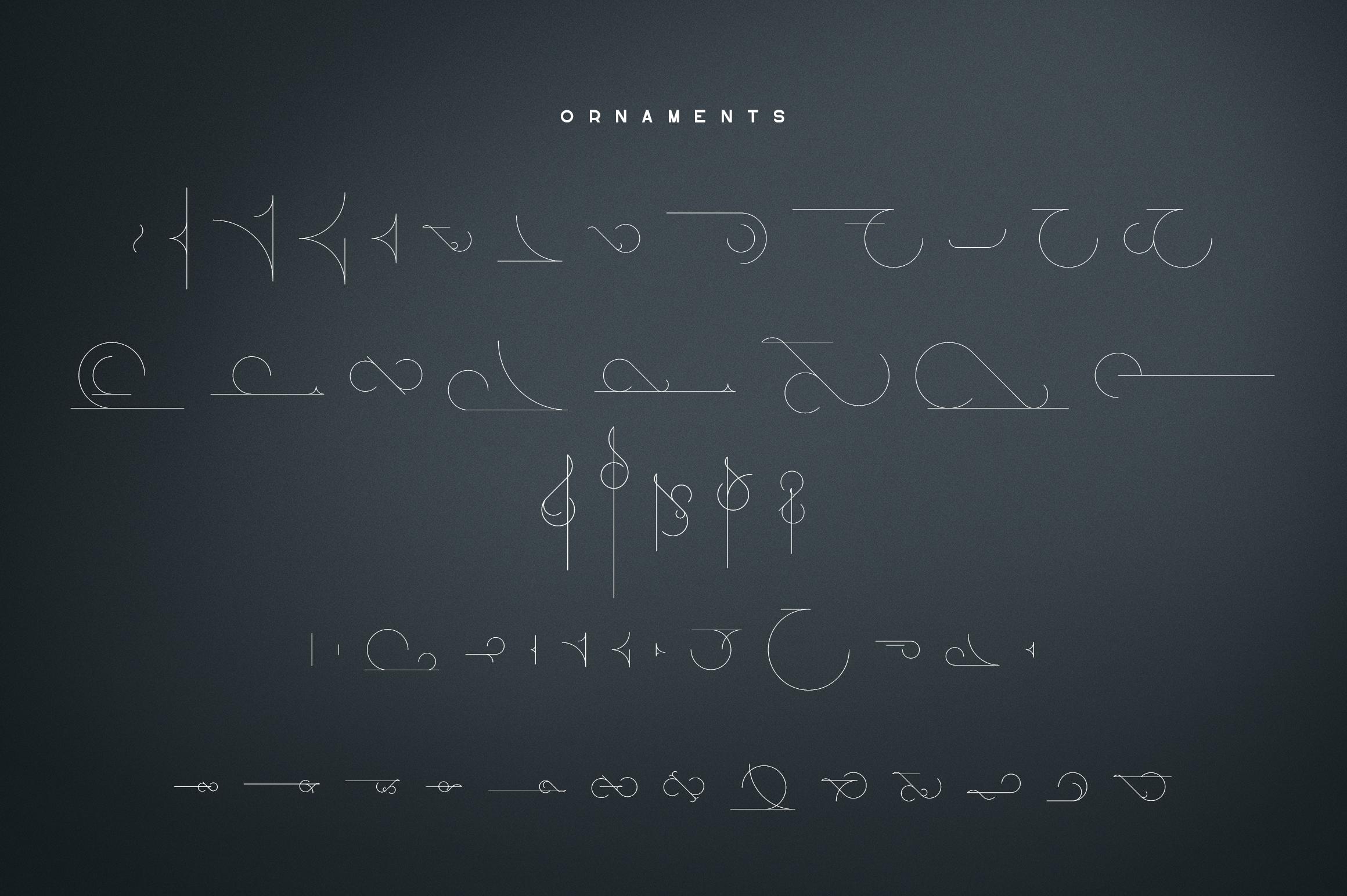 Lotus Eater - sans serif font example image 11