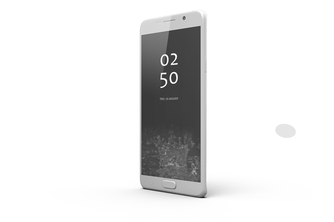 Samsung Galaxy Note 5 Mock-up example image 7