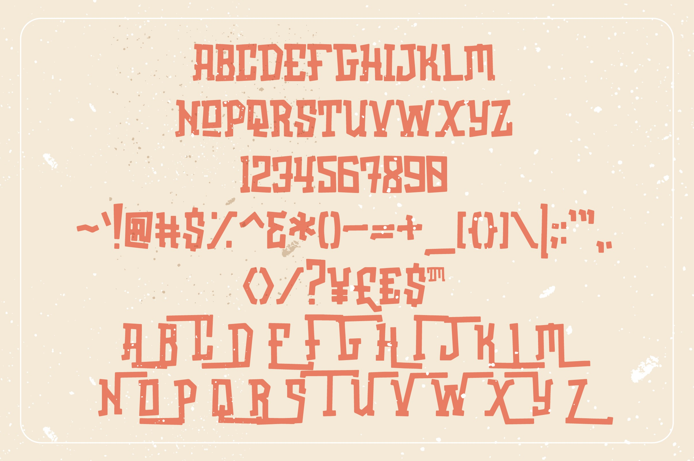 Oldstar Typeface example image 5