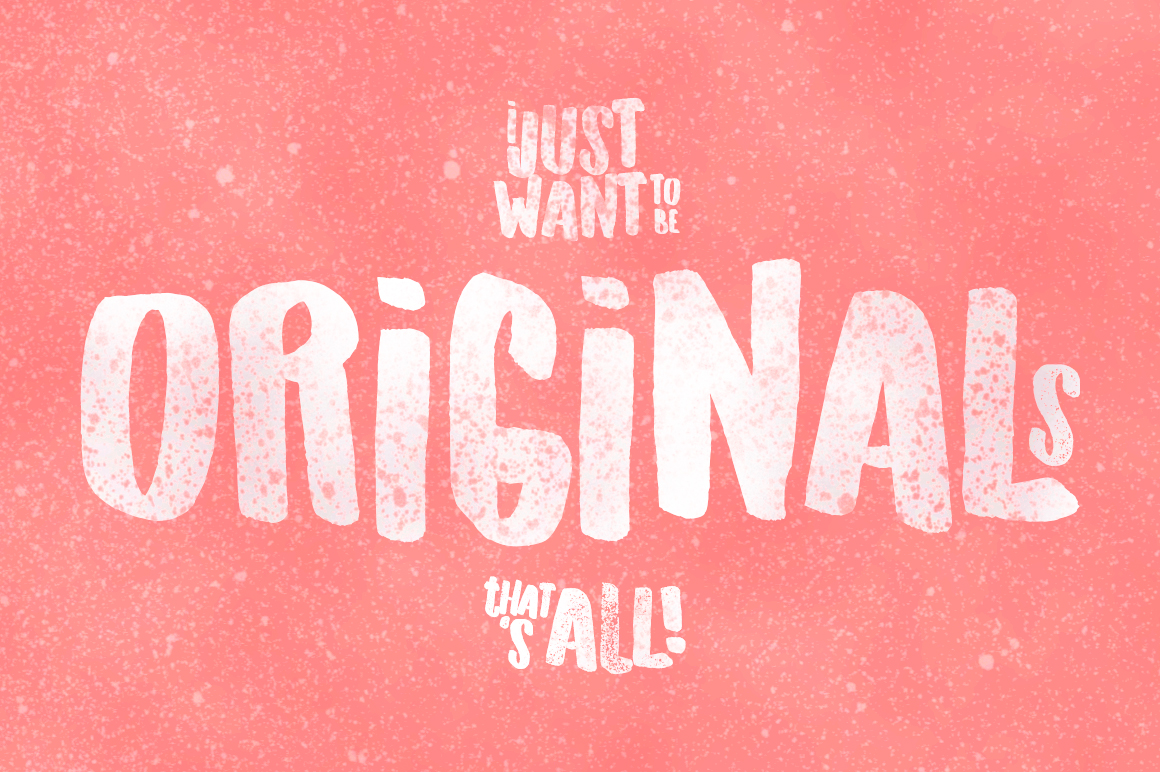 Originals Typeface example image 2