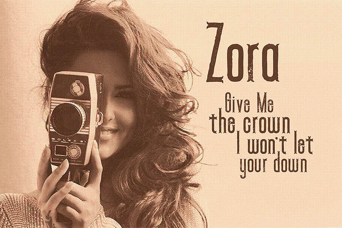 Zora - Vintage Display Font example image 3