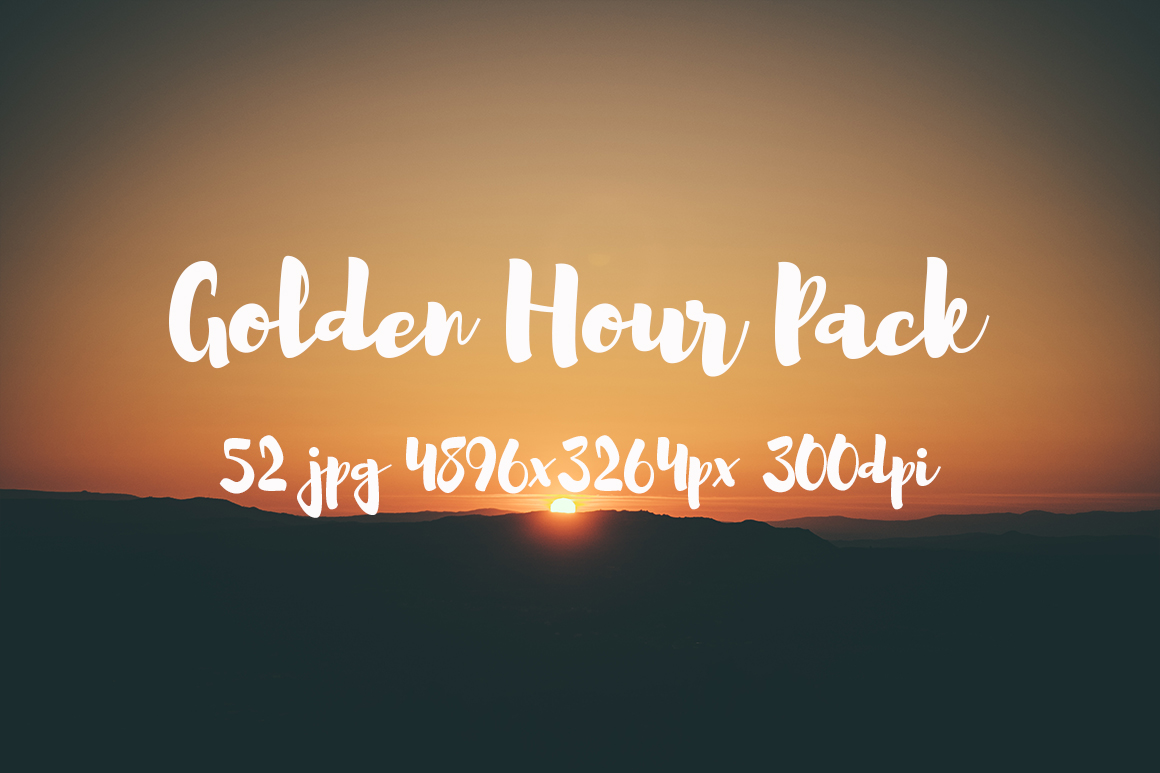 Golden hour Pack example image 7