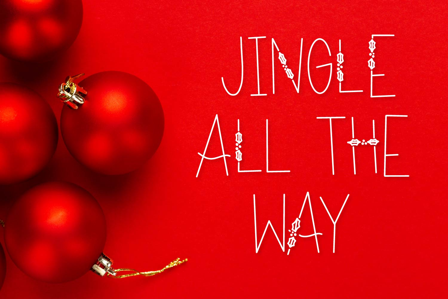 Holiday Tid-Bits - A Christmas Font with Berry Accents! example image 6