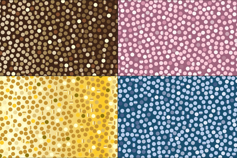 Random Metallic Dot Patterns example image 5