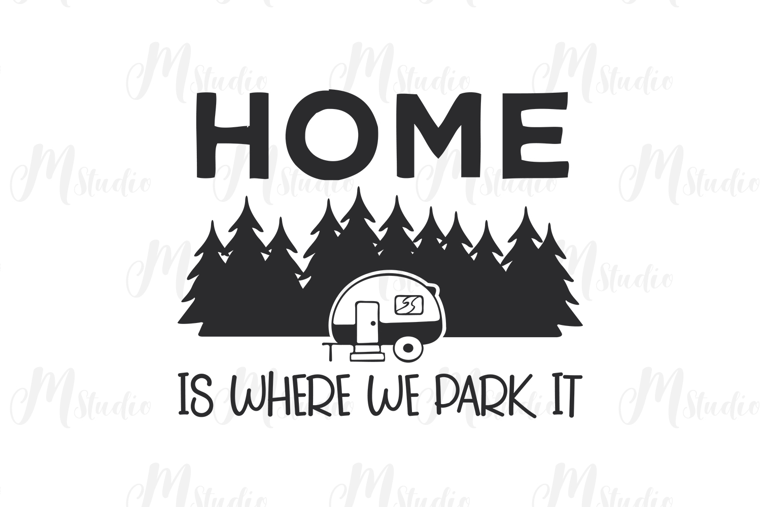 Camping SVG Bundle. example image 17