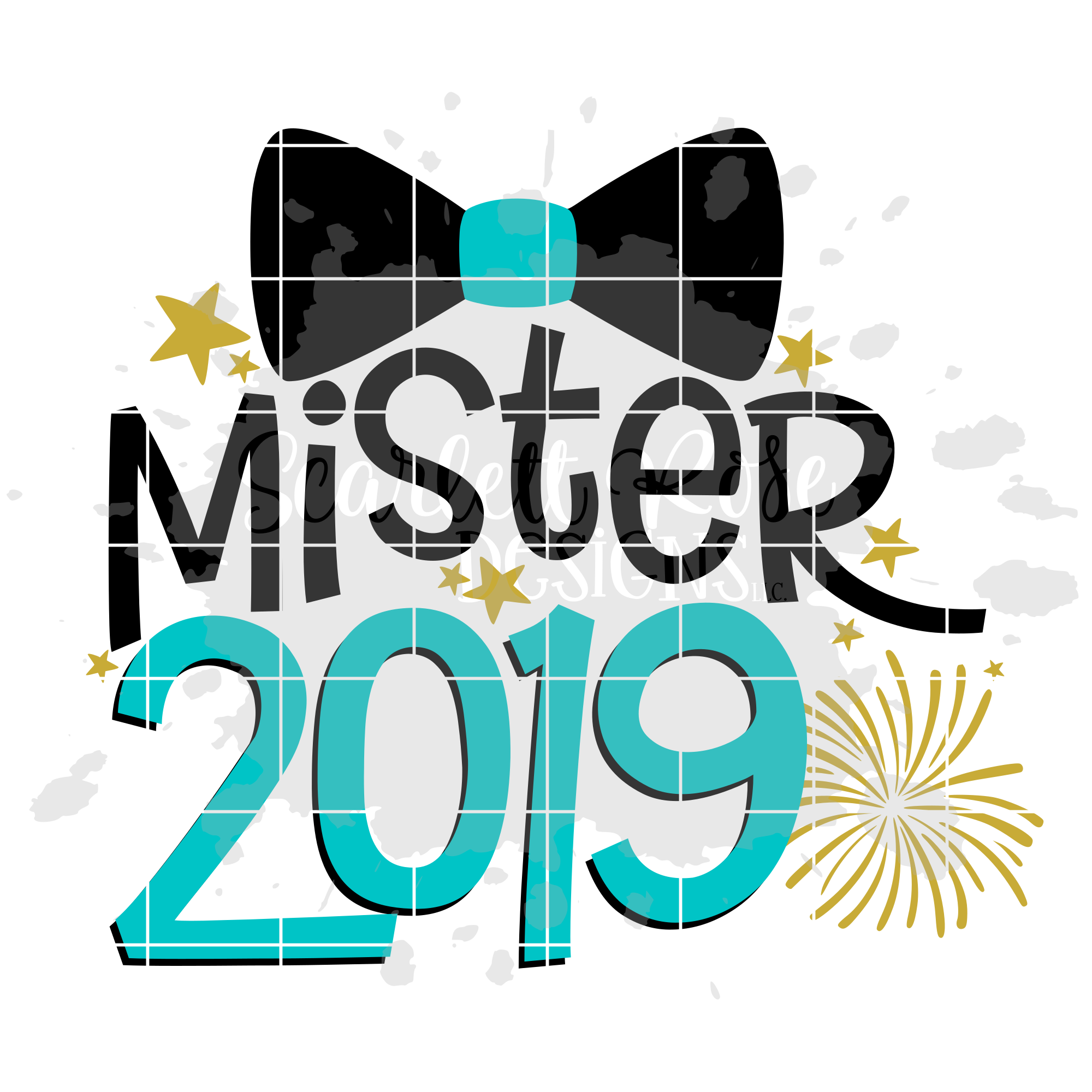 Mister 2019 - New Year's SVG example image 2