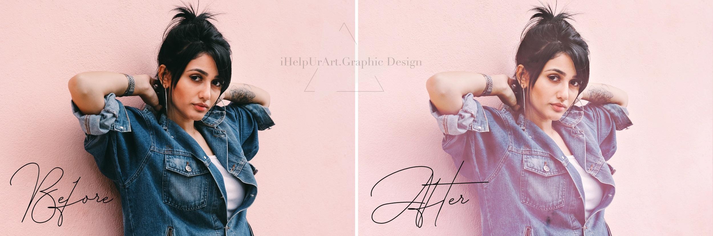Pink Fog Photo Overlays Bundle - Glamour Photo Filter example image 2