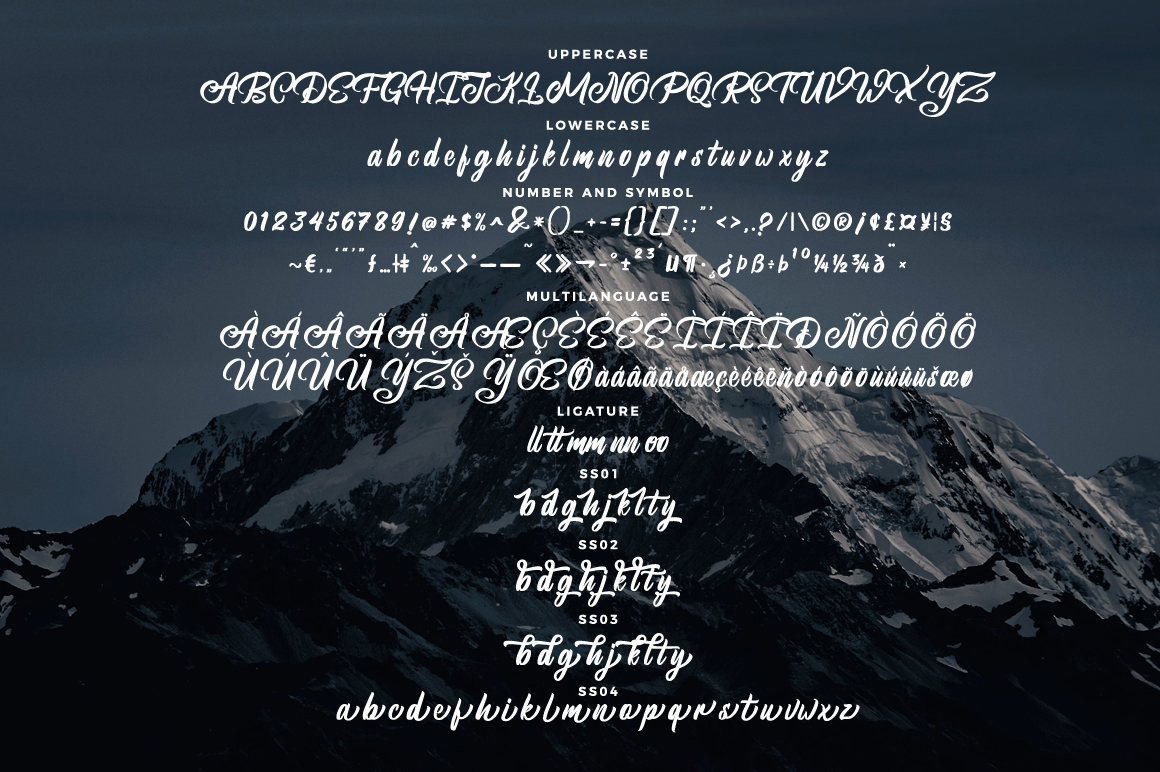 Brightsome - Script Font example image 6