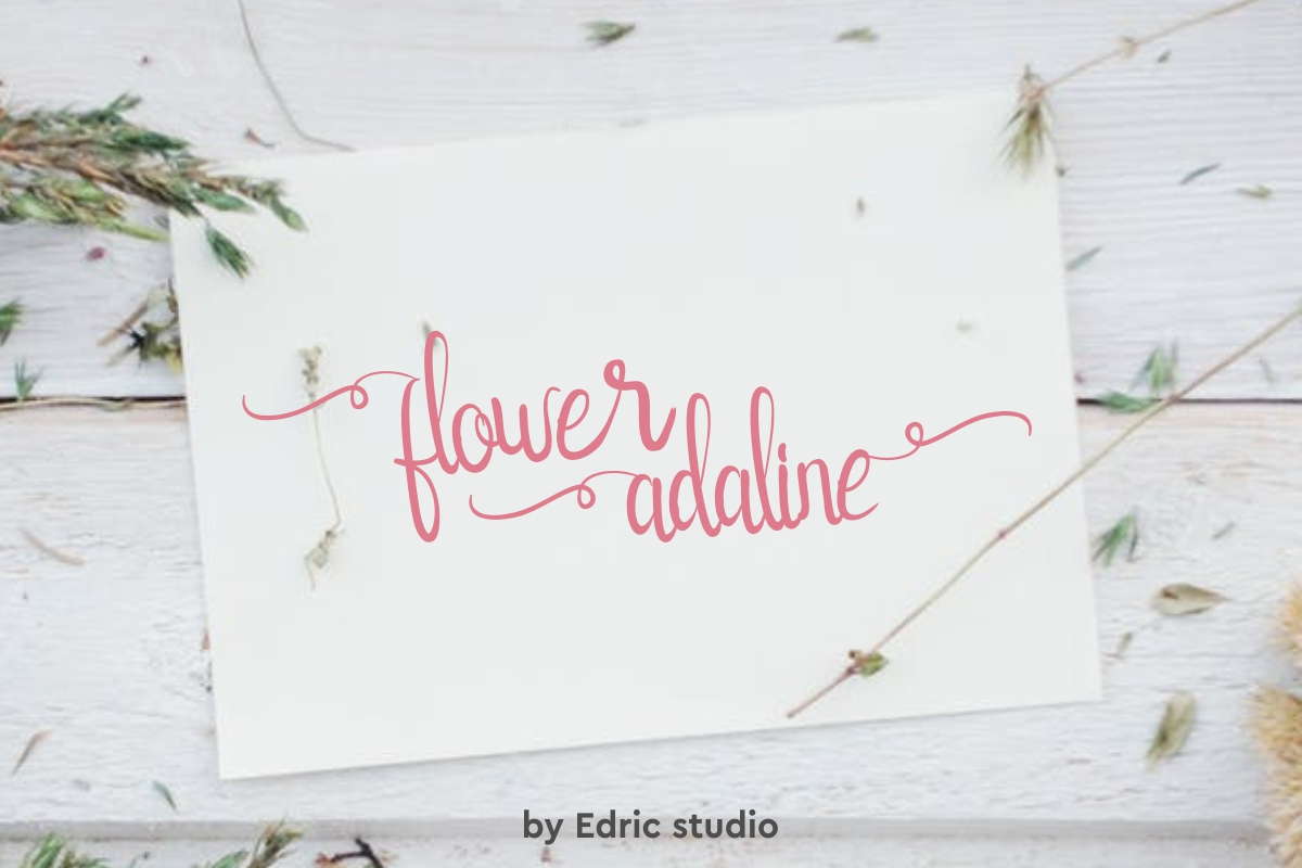 flower adaline example image 1