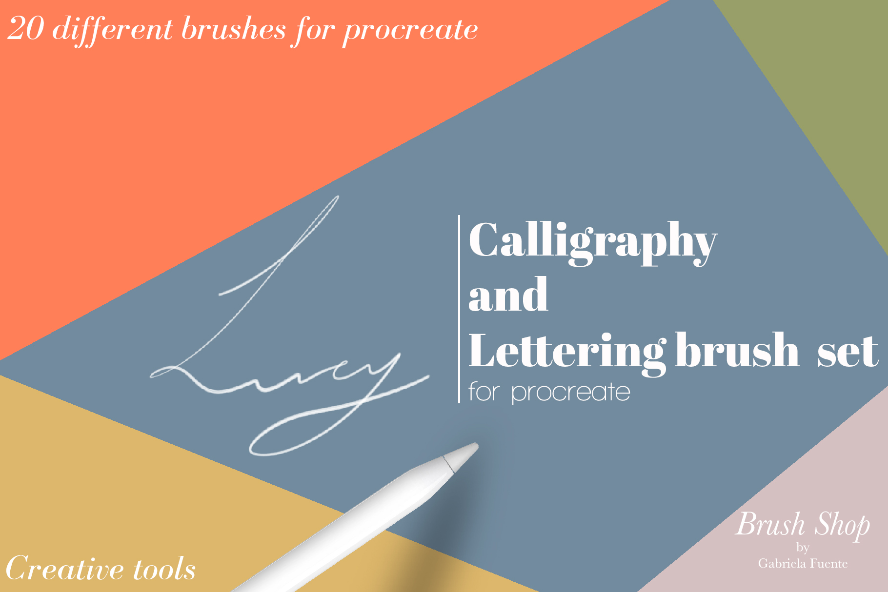 Lucy Calligraphy & Lettering brush example image 1