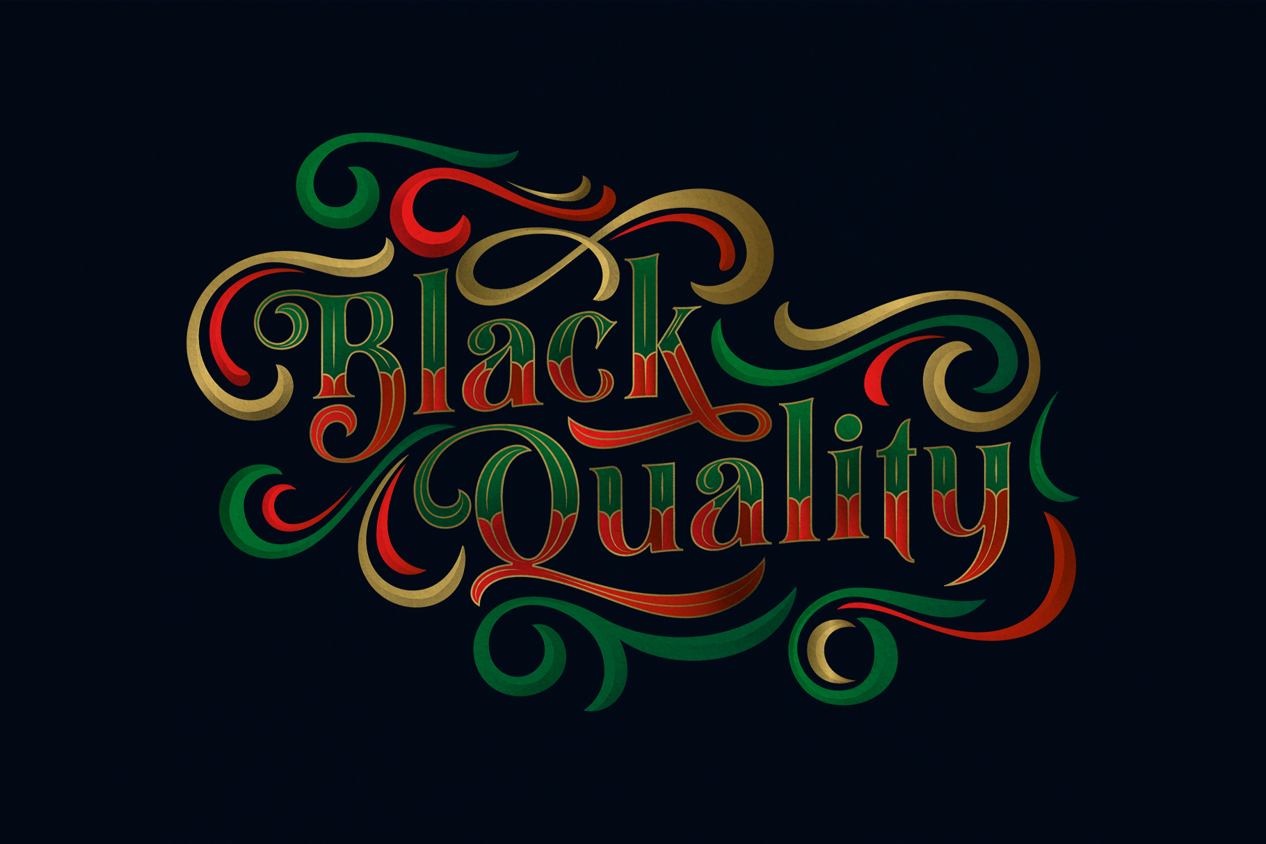 Black Quality Font example image 1