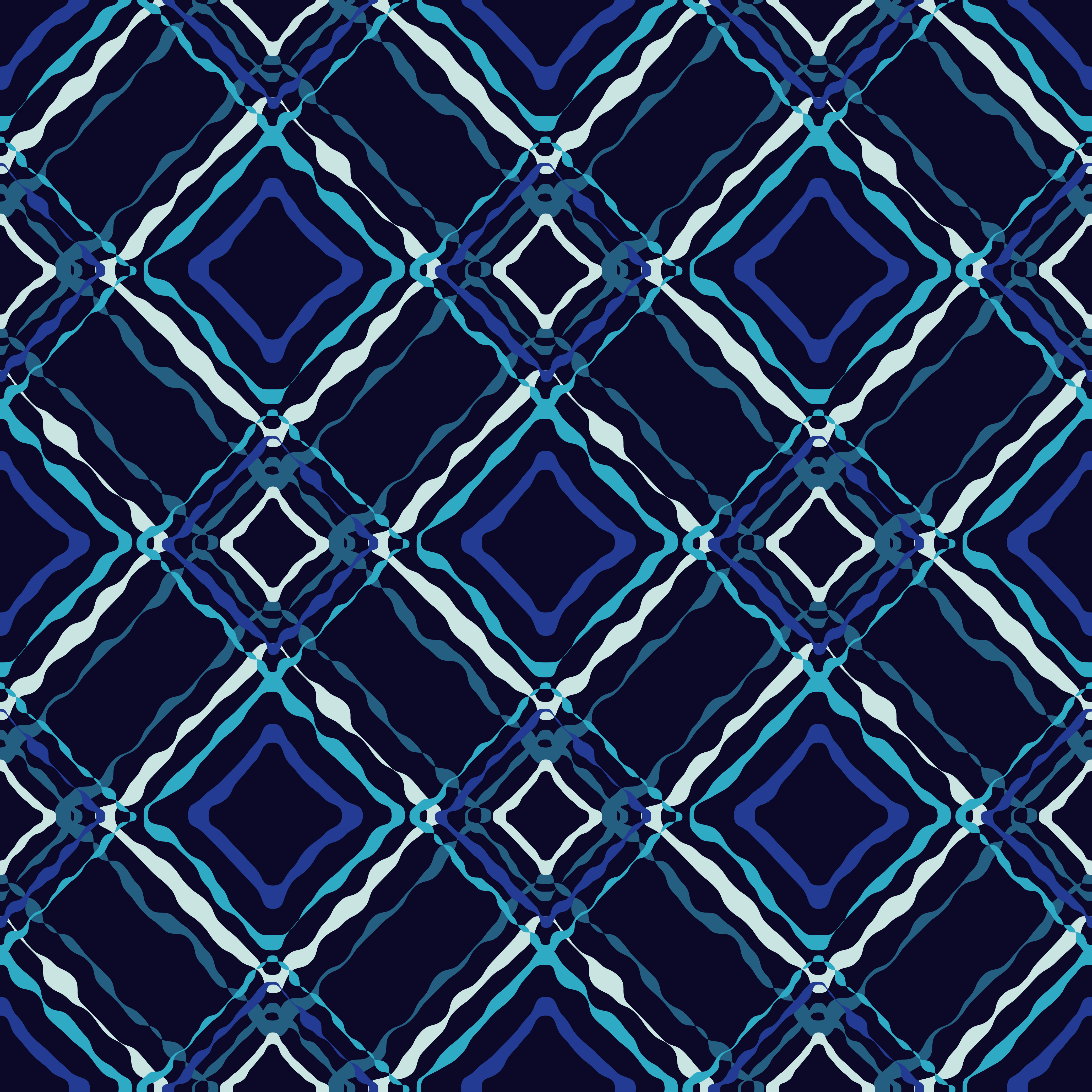 6 Ethnic boho seamless pattern. Scribble texture. Retro motif. example image 6
