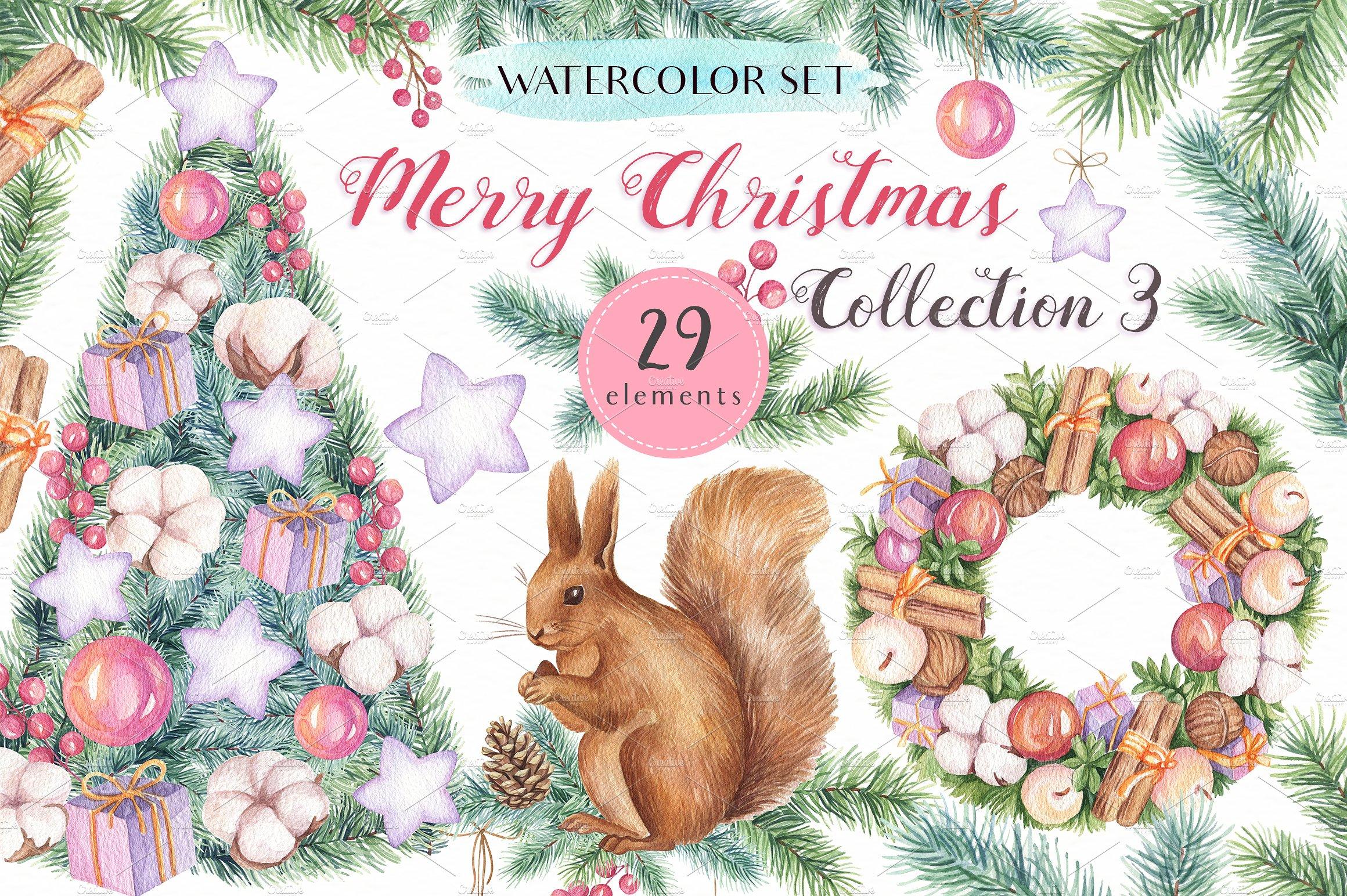 Merry Christmas Collection III example image 1