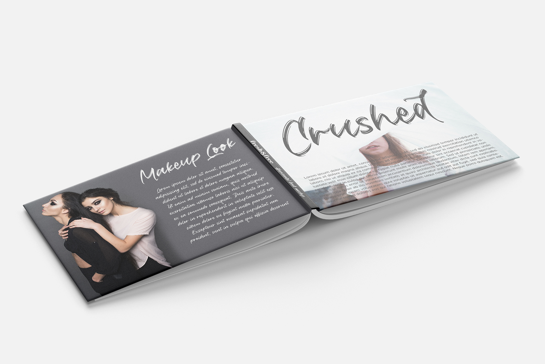 Crushed // Paintbrush Typeface example image 3