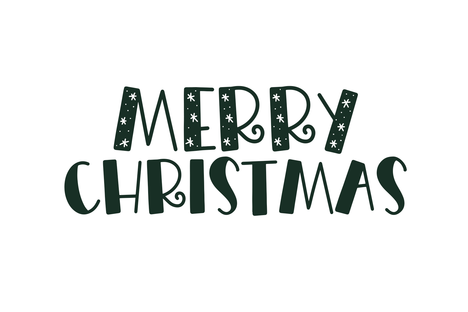 Merry Merry - A Fun Handwritten Font in Three Styles! example image 4