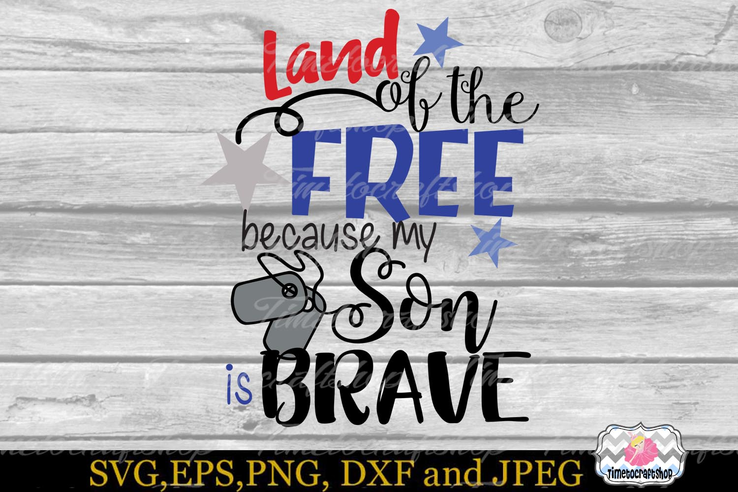 Land of the Free because My Son is Brave example image 3