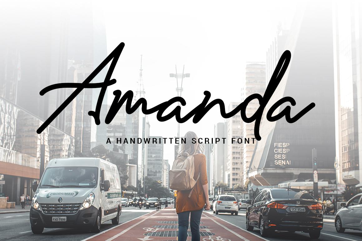 Amanda Signature example image 1
