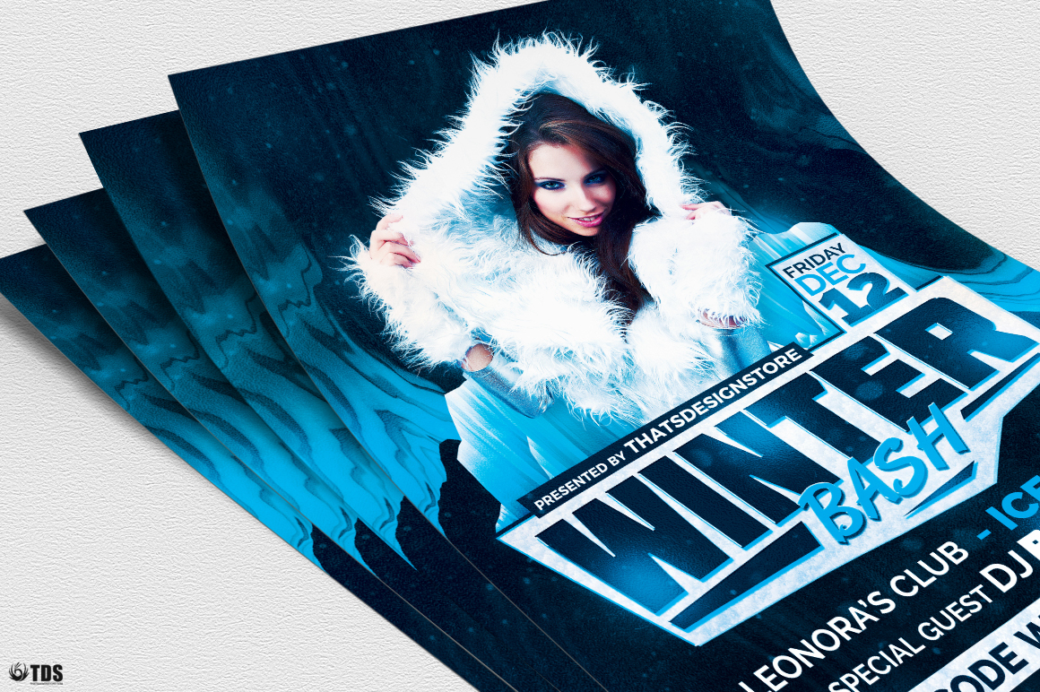 Winter Bash Flyer Template V3 example image 5