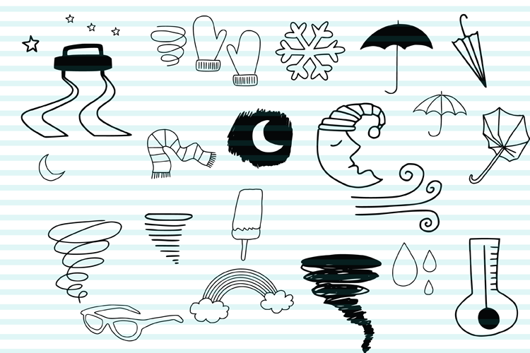 Weather Doodles example image 4