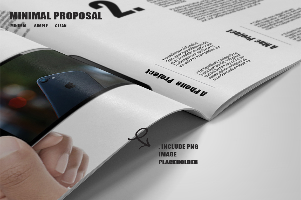 Minimal Proposal Template example image 7