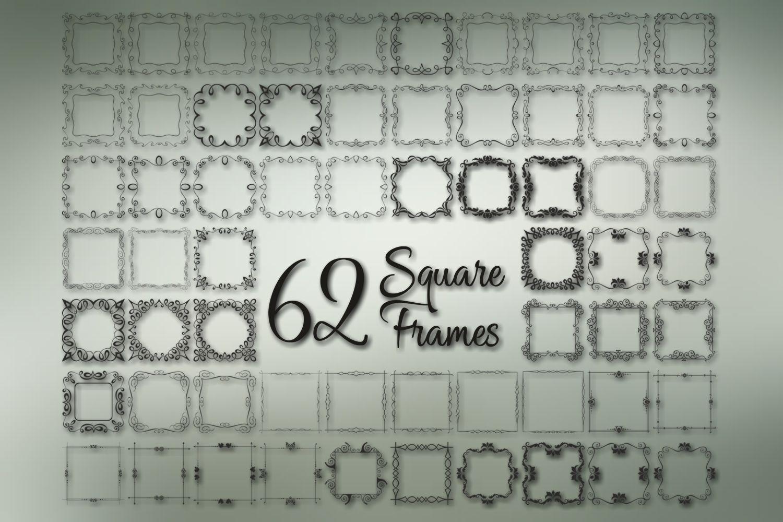 Square Frames Dingbat Font example image 2