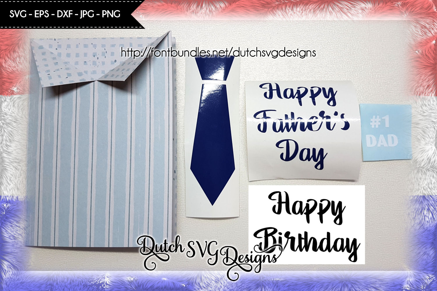 Card cutting file Father's Day / Birthday example image 3