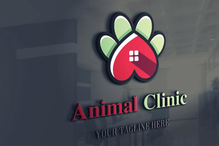Animal Paw Vet Logo example image 4