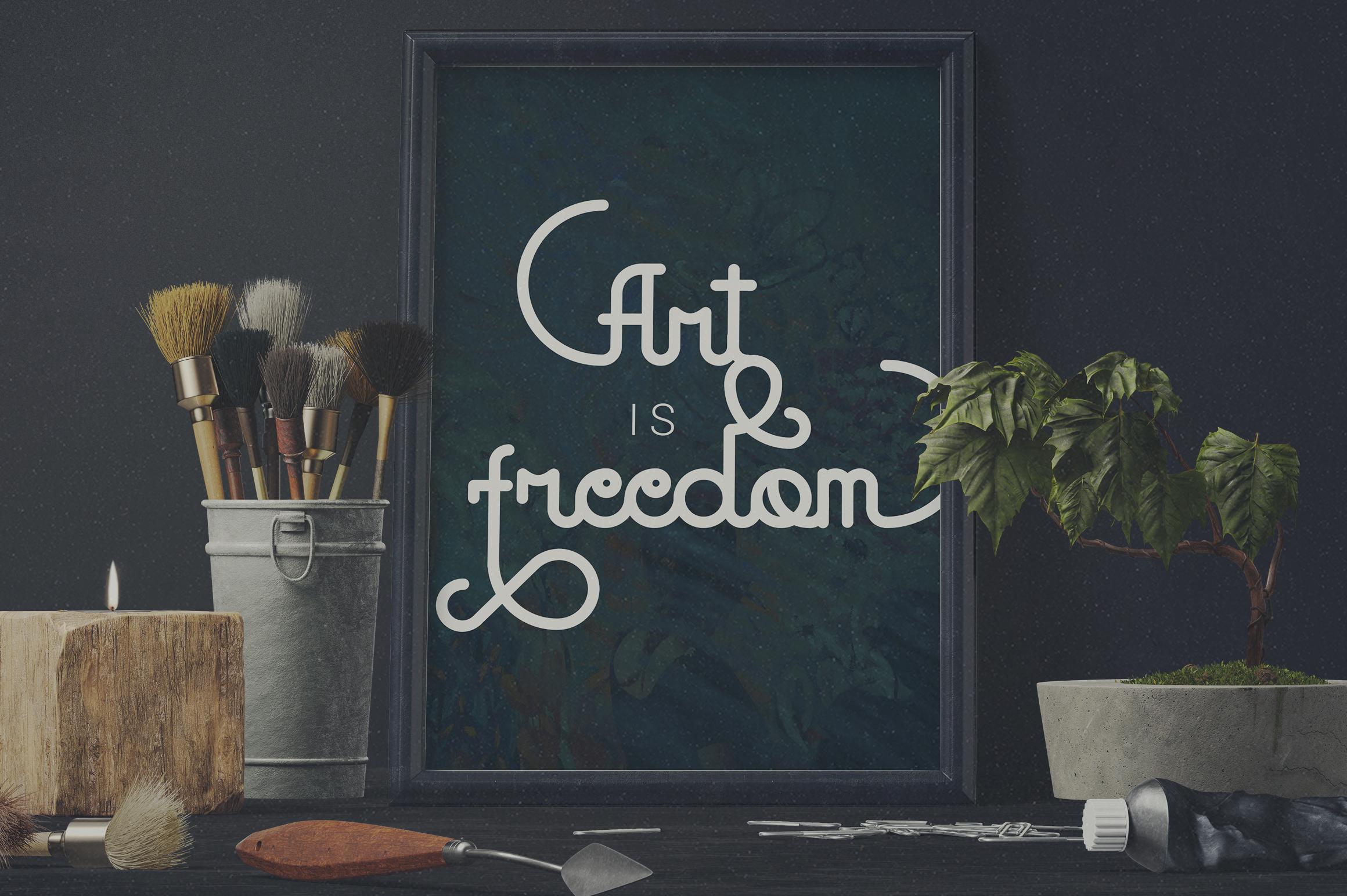 Godlike font + Logo Templates example image 3