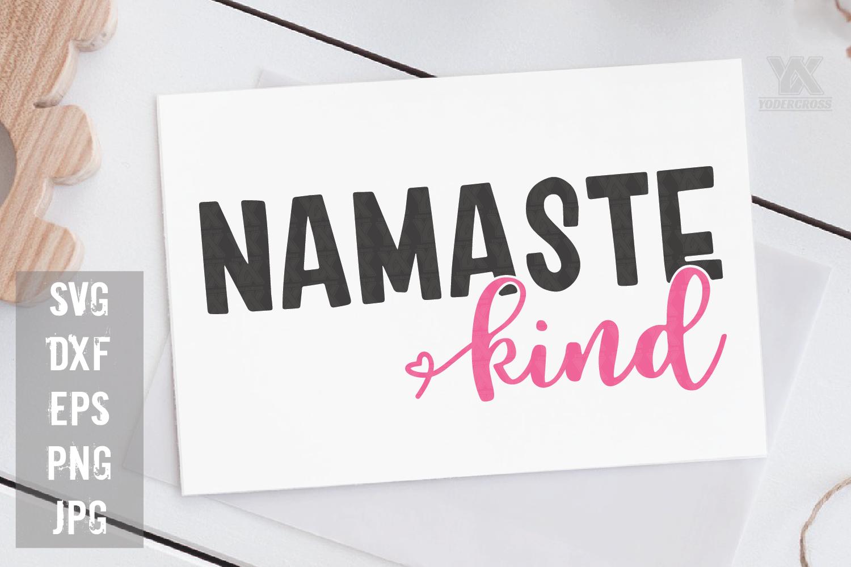 Namaste Kind SVG example image 1