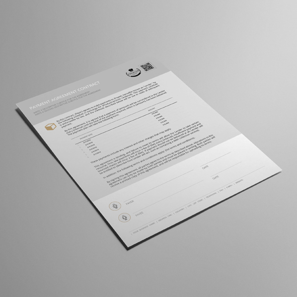 Payment Agreement Contract USL Format Template example image 4