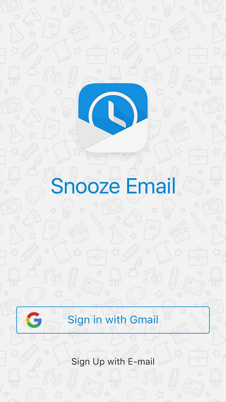 Snooze Mail UI Graphic example image 21