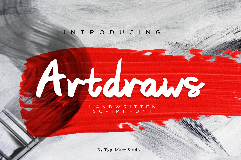 Artdraws Font example image 1