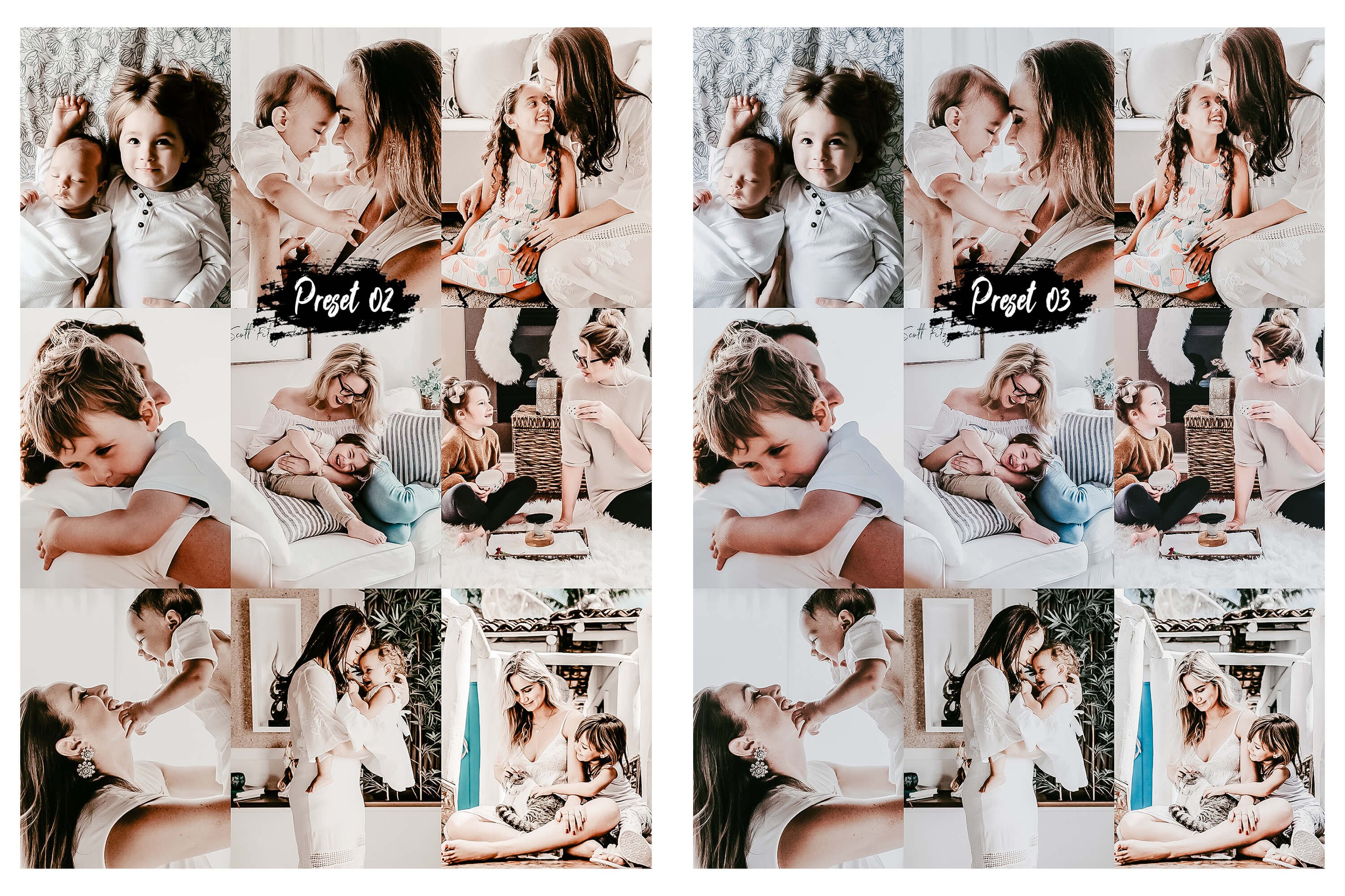10 Family & Kids Photoshop Actions, ACR and LUT presets example image 6
