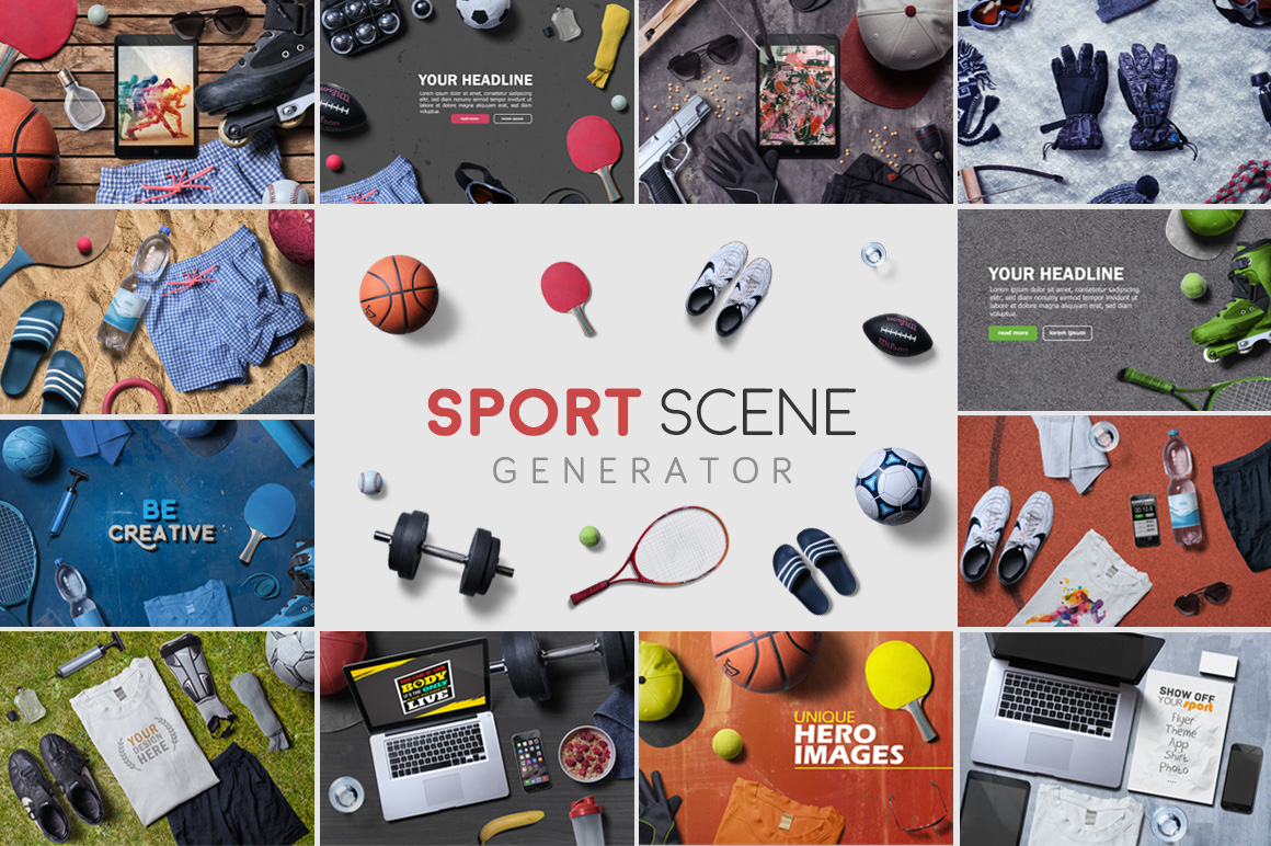 Sport Scene Generator example image 1