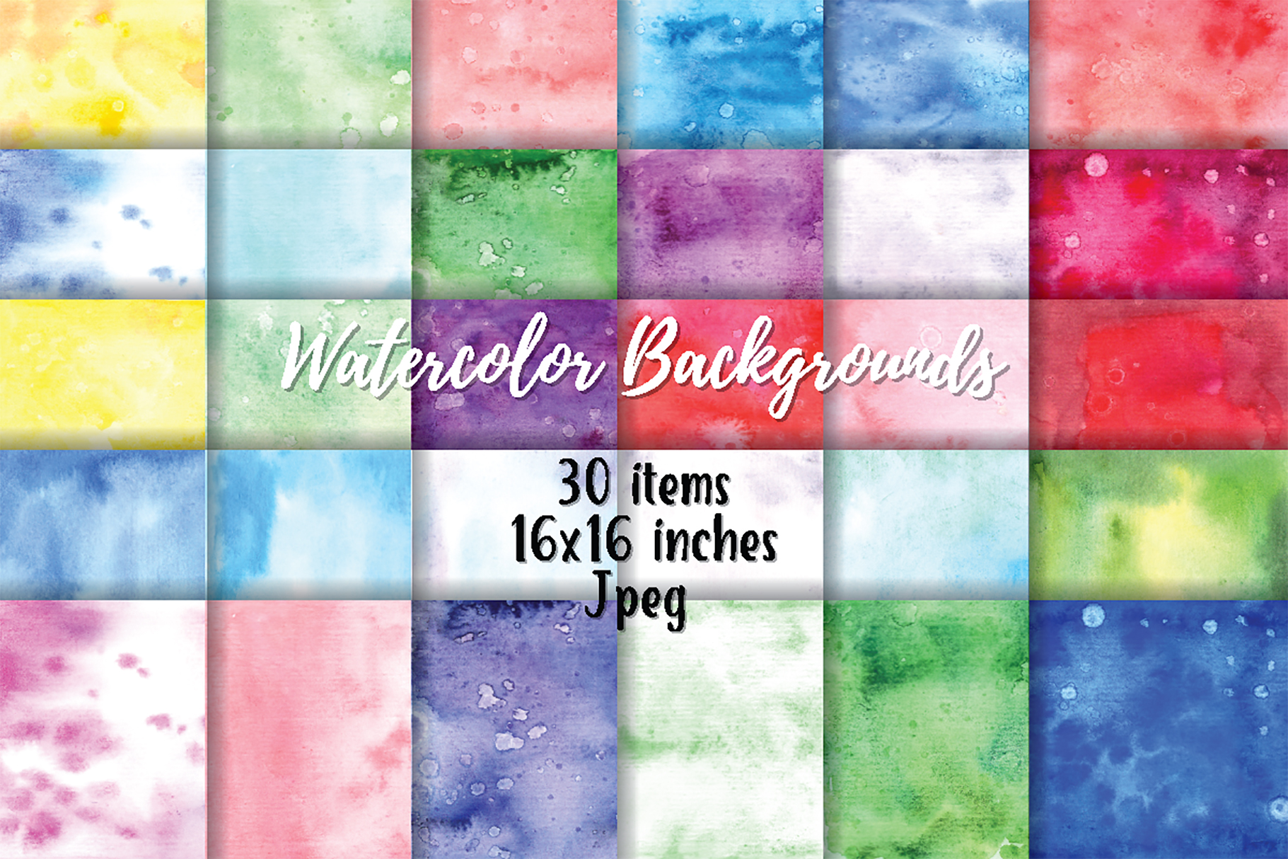 WaAbstract Watercolortercolor violet background example image 1