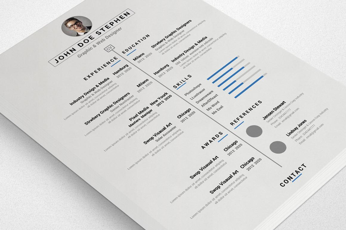 Simple Resume/CV  example image 6
