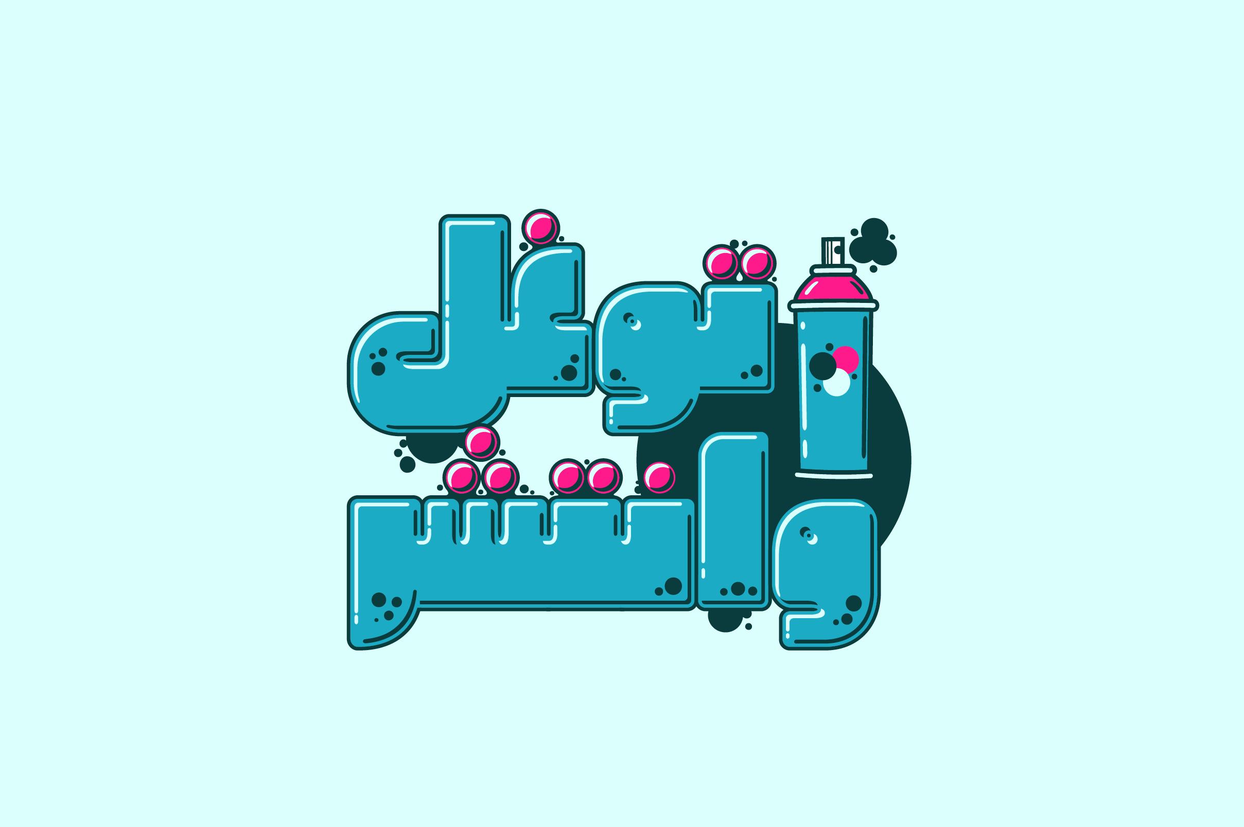Graffitica - Arabic Colorfont example image 20