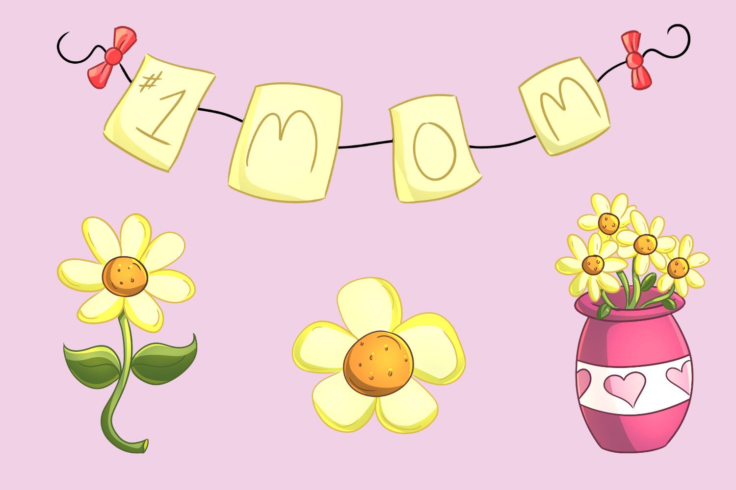 Mother's Day Clip Art Collection example image 4