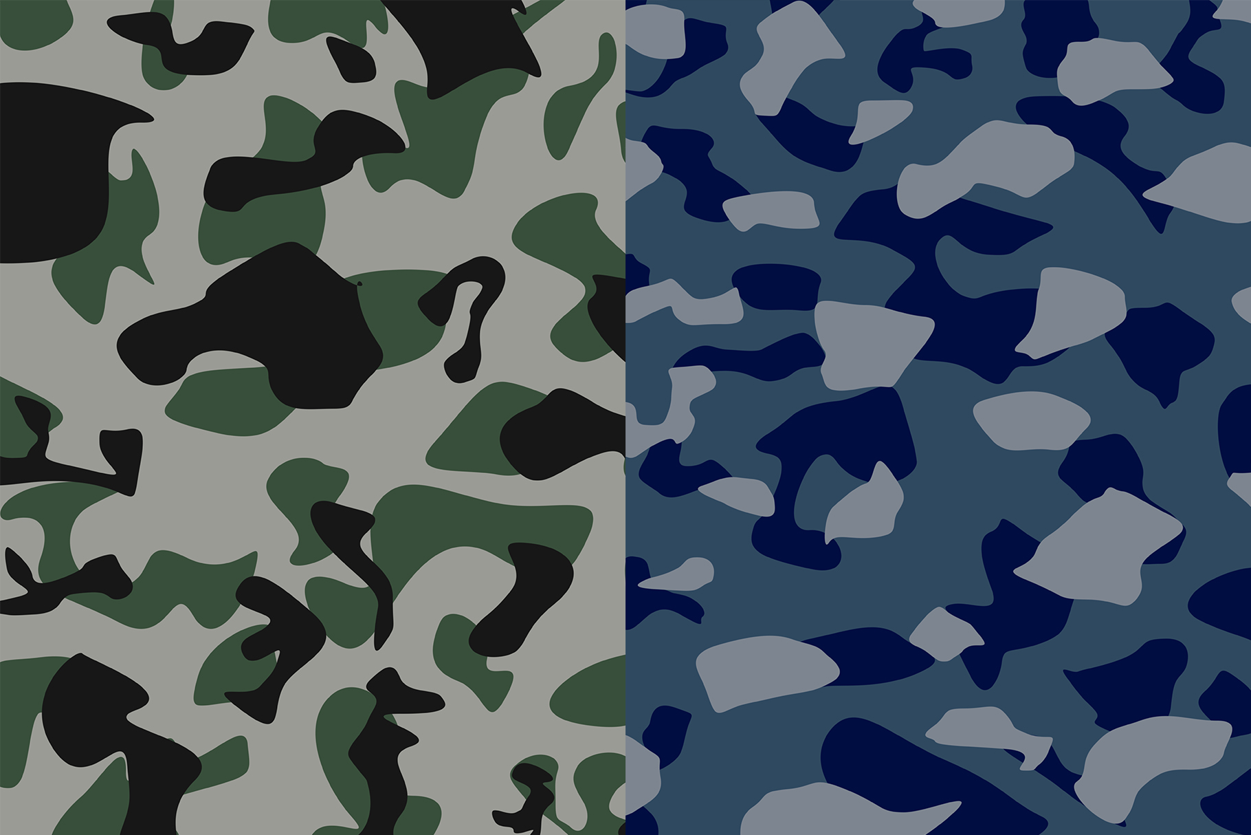 10 Army Camo Patterns Vol.2 example image 4
