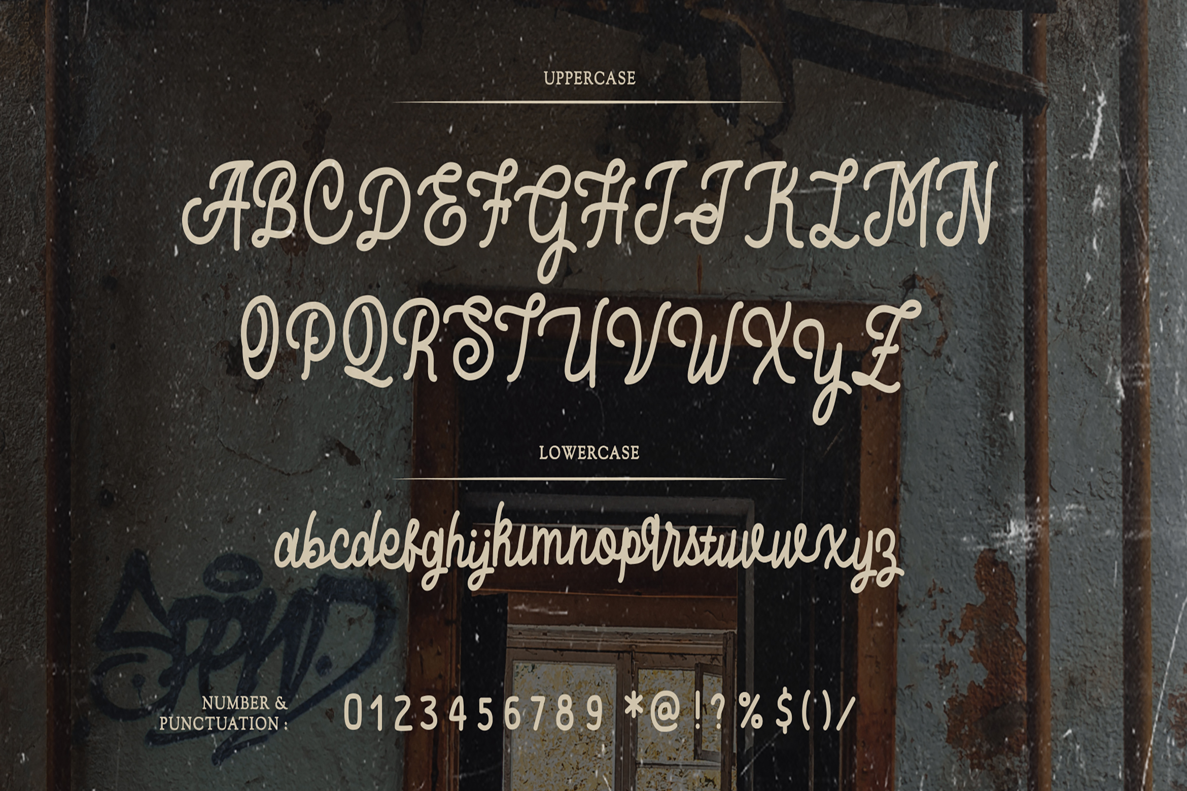 Baratayuda - Authentic Handwriting Font example image 8