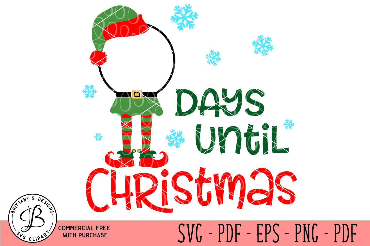 Christmas Countdown, Christmas SVG