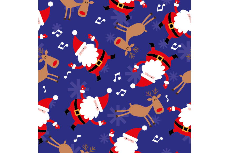 Christmas Patterns Collection. 12 of the jpeg files in resolution 4167*4167 px and 12 files eps8. example image 16